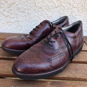 Vintage Rockport Dressports Burgundy Leather Shoes